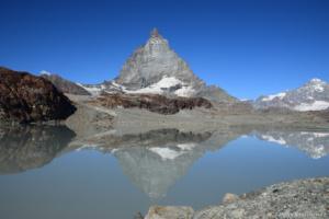 Matterhorn v odraze