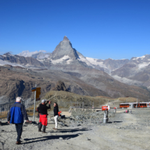 Na hoře Gornergrat