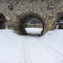 Příkop pod kamenným mostem
