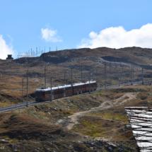 Vlak na horu Gornergrat