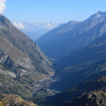 Zermatt z výšky