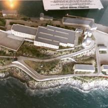 Model ostrova Alcatraz