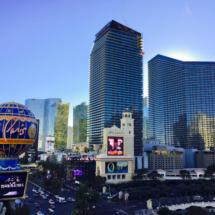 Pohled z Eiffel Tower Las Vegas