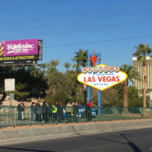 Uvítací cedule Las Vegas