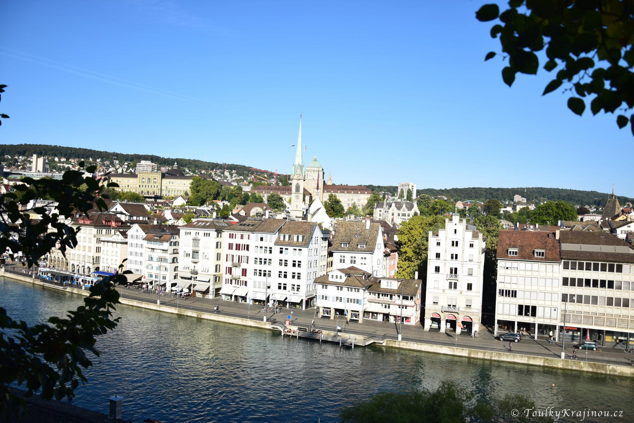 Klidné město Zürich