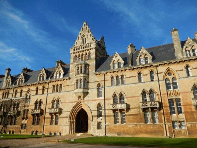 Univerzitní budova Oxford