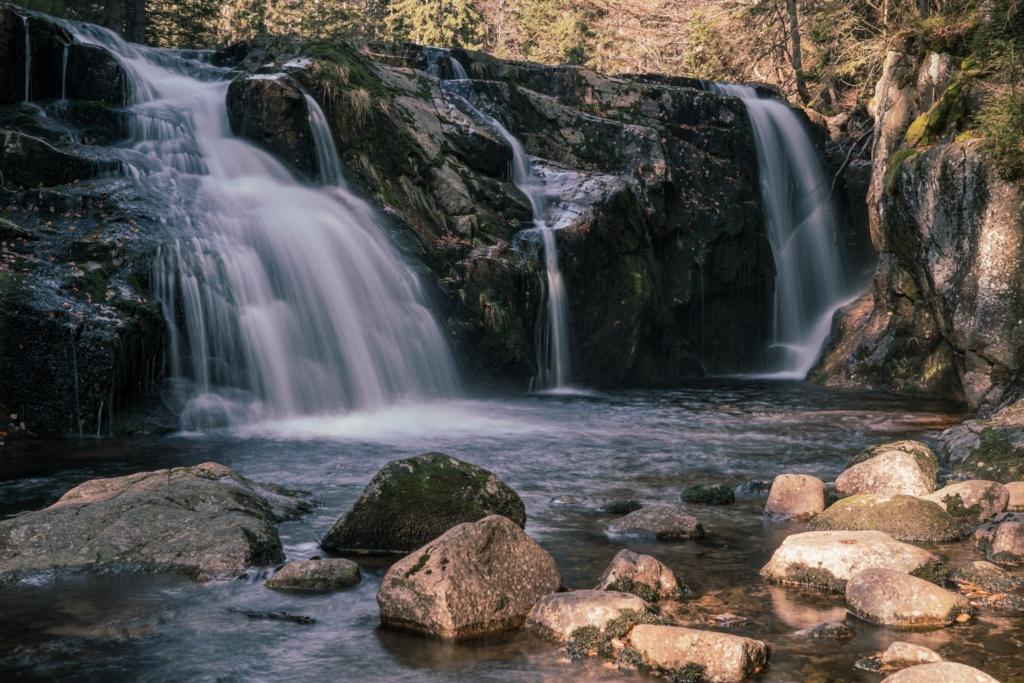 Malý Labský vodopád